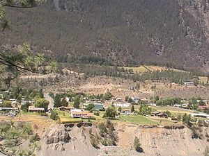 Lillooet - The Hop Farm neighbourhood in Lillooet.