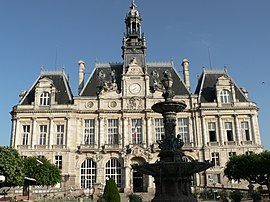 Town hall of Limoges