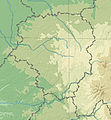 Limousin topographic blank map.jpg