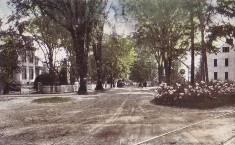 Linden Street, from Front Street, Exeter, NH