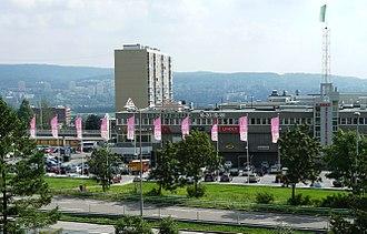 Linderud - Linderud shopping mall.