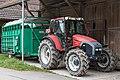 Lindner GeoTrac 100 mit Viehanhänger.jpg