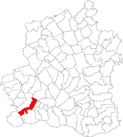 Location of Lița