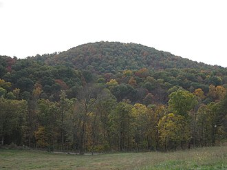 Little Cacapon Mountain - Image: Little Cacapon Mountain Little Cacapon WV 2008 10 13 03