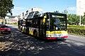 Litvínov, centrum, Autobus MAN.JPG