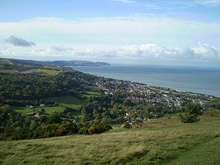 Llanddulas Human settlement in Wales