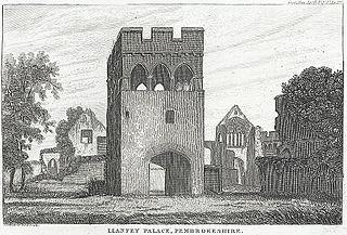Llanfey Palace, Pembrokeshire