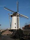 foto van Tolhuys Coornmolen: molenromp van beltmolen