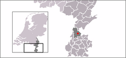 Location of Sittard