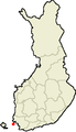 Location of Inio in Finland.png