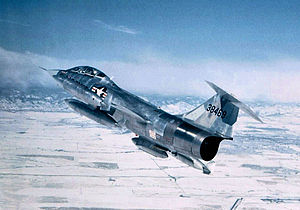 418th Tactical Fighter Training Squadron - German Air Force Lockheed TF-104G Starfighter 63-8469, being operated by the 418th Tactical Fighter Training Squadron, 1972