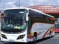 Logan of Ballymena YN12 CSY Olympic games vehicle (7713443314).jpg