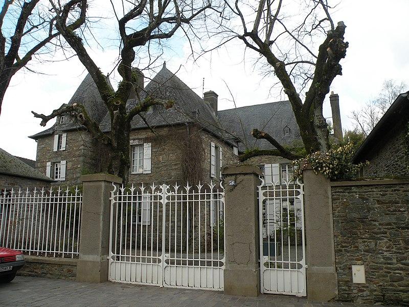 Le «chêtau de la Barre», hôtel particulier à Lohéac.
