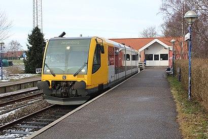 Sådan kommer du til Nærum Station med offentlig transport – Om stedet