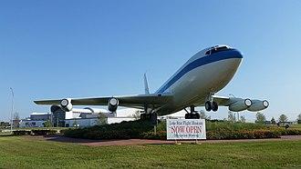 Lone Star Flight Museum - New location of museum at Ellington Field