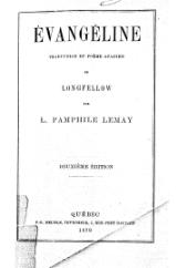 Longfellow - Évangéline (traduction Léon Pamphile LeMay), 1870.djvu