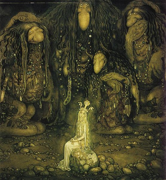 File:Look at them troll mother said by John Bauer 1915.jpg