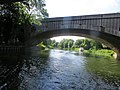 Looking back under the northbound A1 - Wansford - August 2013 - panoramio.jpg