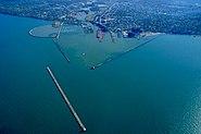 Lorain Ohio aerial view