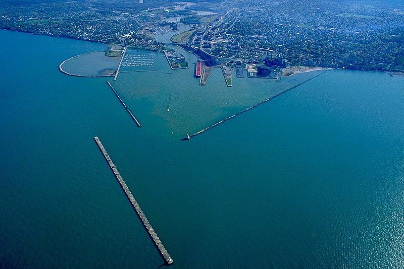 File:Lorain Ohio aerial view.jpg