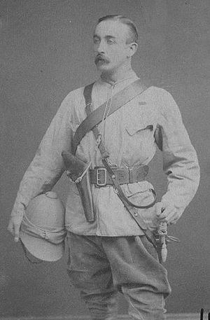 Gilbert Elliot-Murray-Kynynmound, 4th Earl of Minto - Lord Melgund in 1885, as Middleton's chief of staff