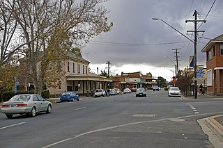 Junee Town in New South Wales, Australia