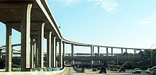 The Los Angeles Freeway Interchange.