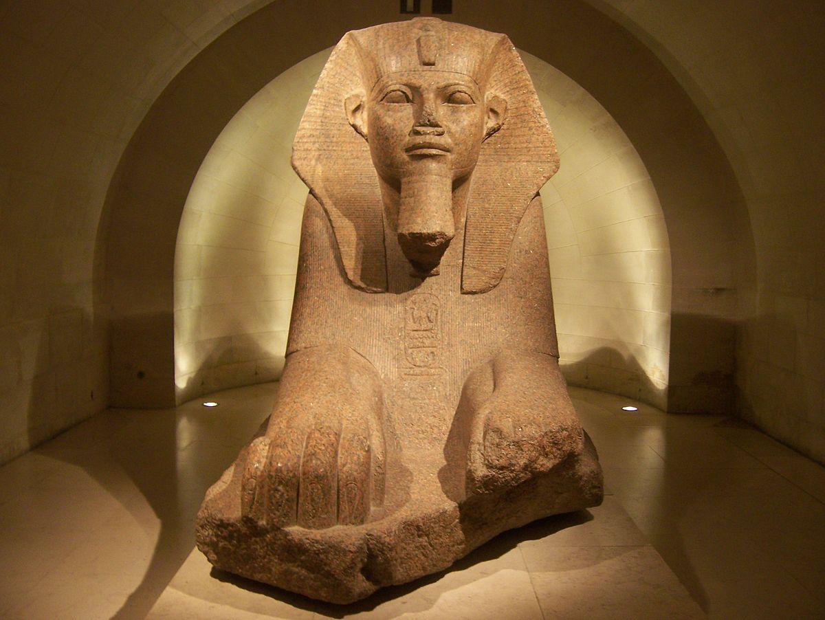 Favori Département des antiquités égyptiennes du musée du Louvre — Wikipédia EX63