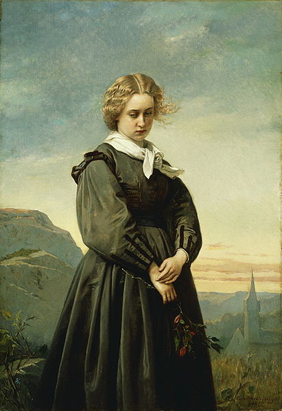 File:Love's Melancholy by Constant Mayer 1866.jpg