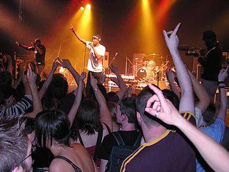Love Music Hate Racism - Love Music Hate Racism concert in northwest England in 2004.