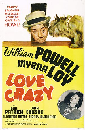 Love Crazy (1941 film) - Theatrical film poster