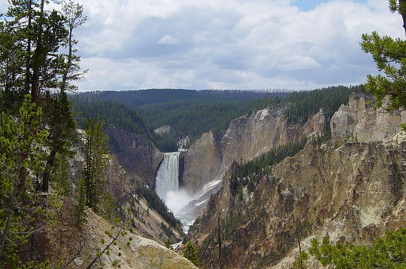File:Lower Yellowstone Fall.JPG