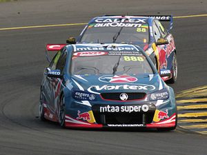 Craig Lowndes - Lowndes in his 600th championship race at Sydney Motorsport Park