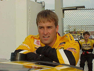Loy Allen Jr. - Allen at Daytona International Speedway in 1999