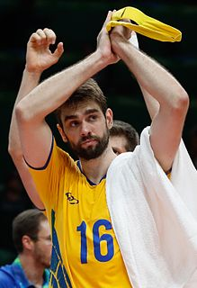 Lucas Saatkamp Brazilian volleyball player