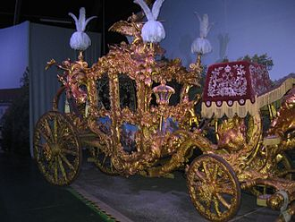Ludwig II (2012 film) - The carriage used by Ludwig in the film