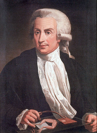 Galvanization was named after Luigi Galvani. Luigi Galvani, oil-painting.jpg