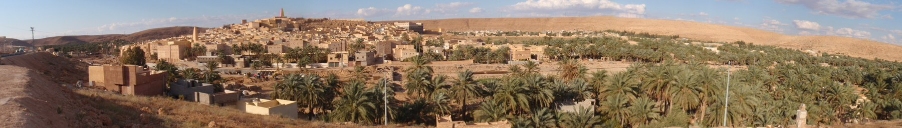 Ancient cities in the M'zab Valley.