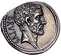 M. Junius Brutus, denarius, 54 BC, RRC 433-2 (obverse L. Junius).jpg