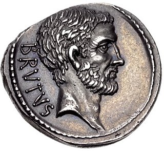 Lucius Junius Brutus semi-legendary founder of the Roman Republic, and traditionally one of its first consuls in 509 BC