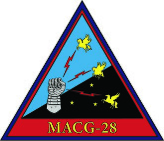 Marine Air Control Group 28 - Image: MACG 28 Logo