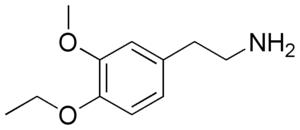 3-Methoxy-4-ethoxyphenethylamine - Image: MEPEA