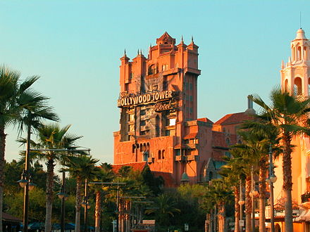The Twilight Zone Tower of Terror, at Disney's Hollywood Studios MGM Studios Tower of Terror.jpg
