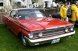 1960 Mercury Monterey convertible