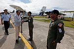 MINISTRO VALAKIVI ENTREGÓ MODERNA FLOTA DE 12 AERONAVES CANADIENSES TWIN OTTER DHC-6 SERIE 400 A LA FUERZA AÉREA DEL PERÚ (19590584555).jpg