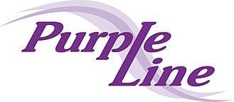 Purple Line (Maryland) - Purple Line logo