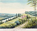 Maastricht-Sint Pieter, Ursulinenweg (Ph v Gulpen, ca 1840).jpg