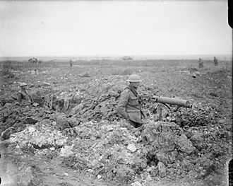 Battle of Arras (1917) - Image: Machin Gun Corps