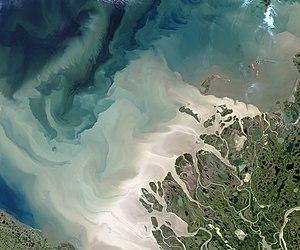 Delta des Mackenzie River