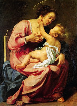Galleria Spada - Image: Madonna and child Gentileschi